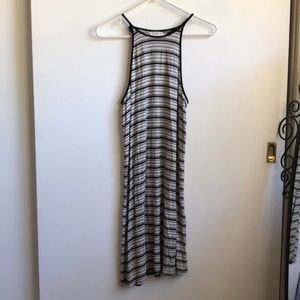 American Eagle Striped Tank Shift Dress